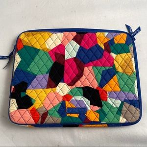 Vera Bradley Pop Art multicolor laptop sleeve